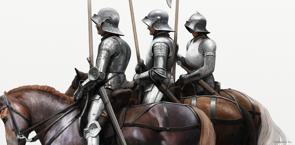 Medieval Life: Men at Arms - tombjorklund fi